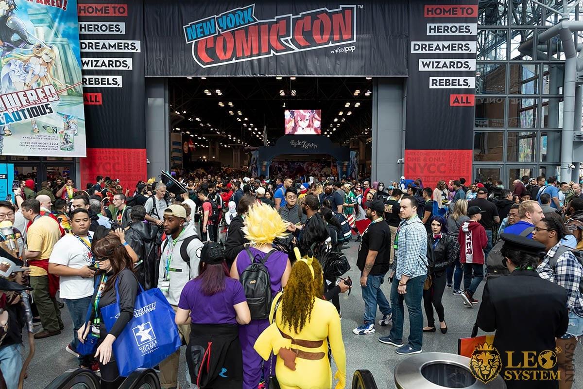 Comic Con event in New York