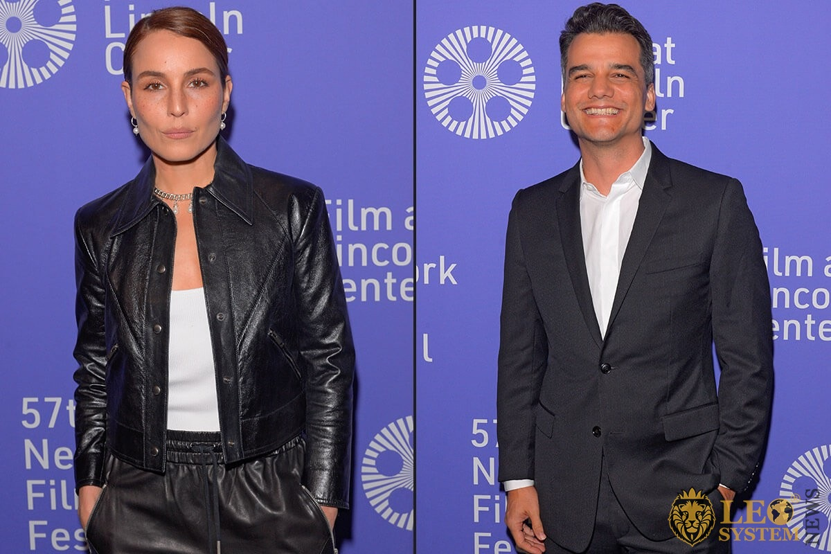 "Noomi Rapace and Wagner Moura on 57th New York Film Festival ""Wasp Network"""