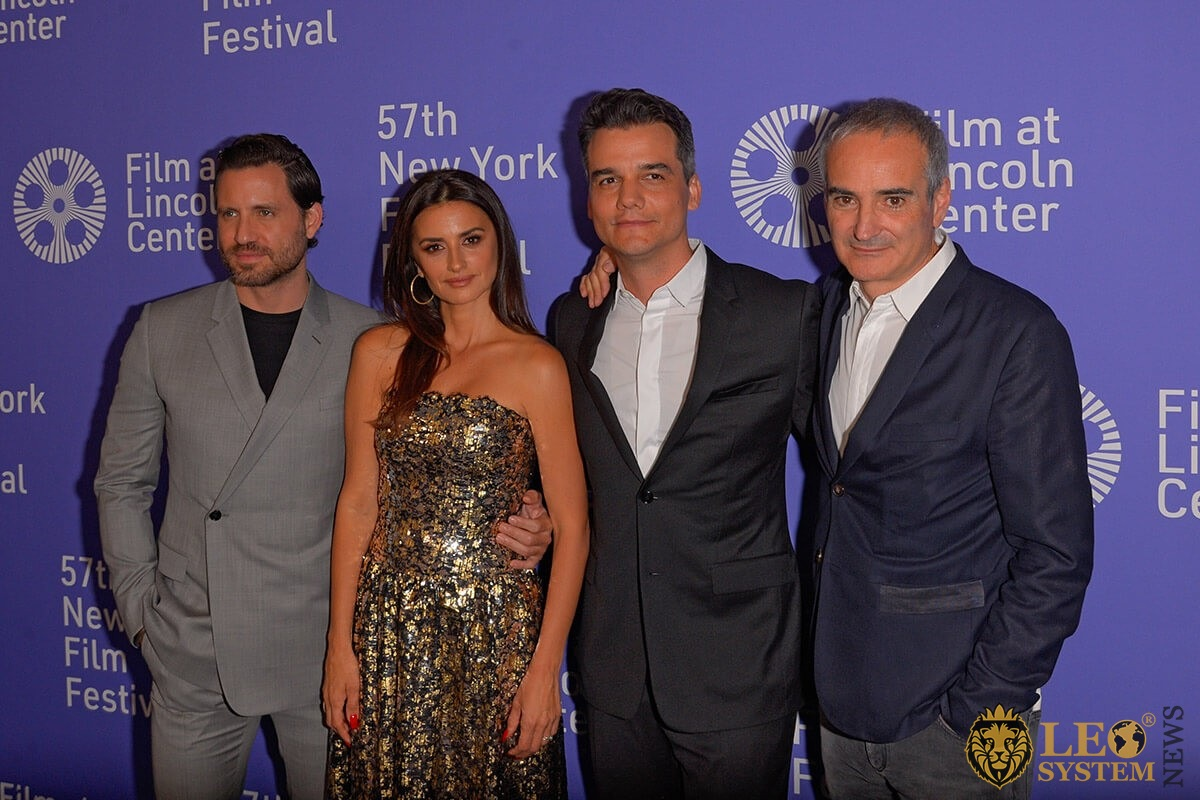 "Oliverier Assayas, Penelope Cruz, Wagner Moura, Edgar Ramirez on 57th New York Film Festival ""Wasp Network"""