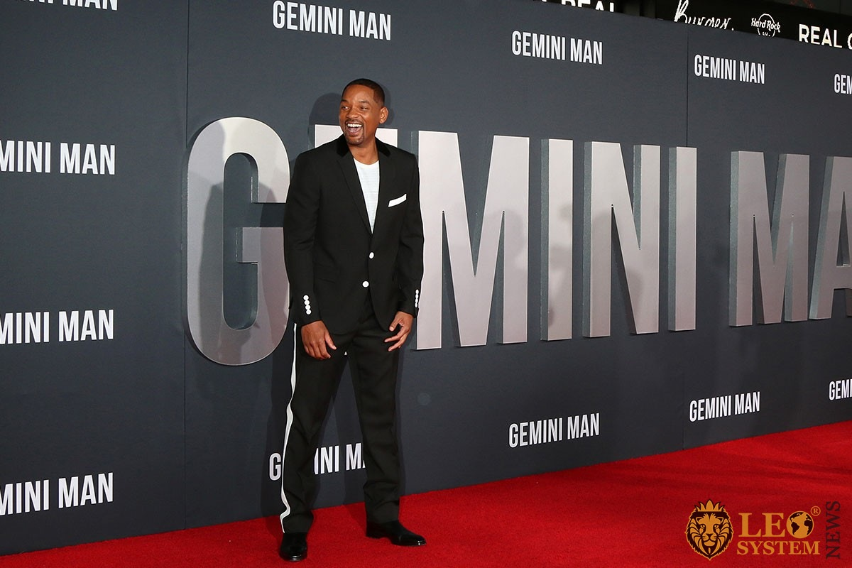 "Will Smith at the ""Gemini"" premiere at the TCL Chinese Theater IMAX 2019 in Los Angeles"