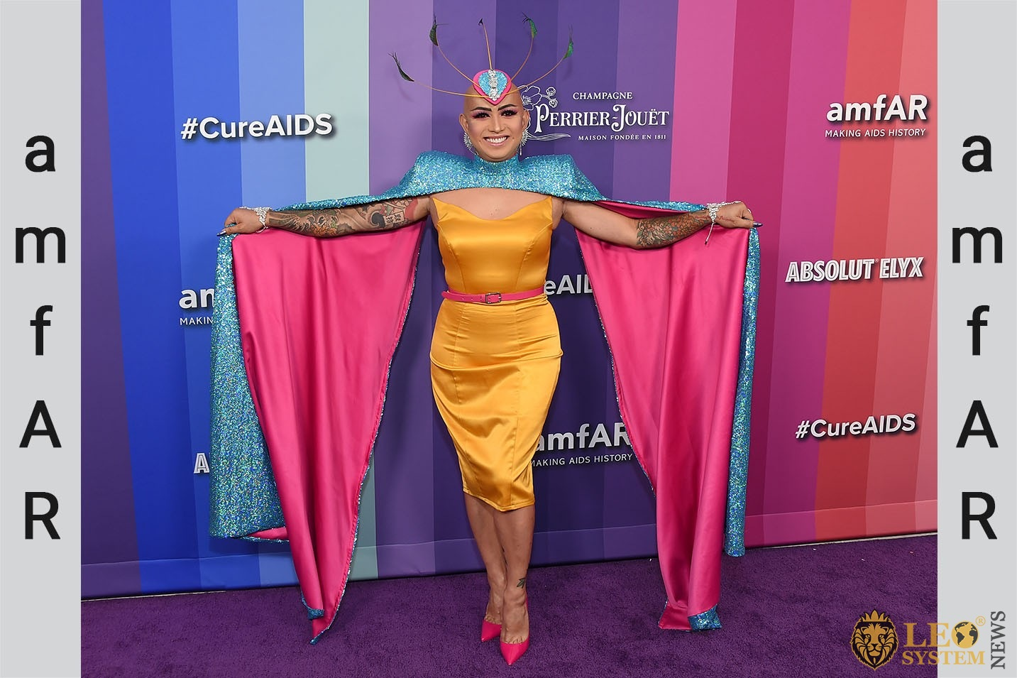 Ongina - amfAR Gala in Hollywood, Los Angeles, USA