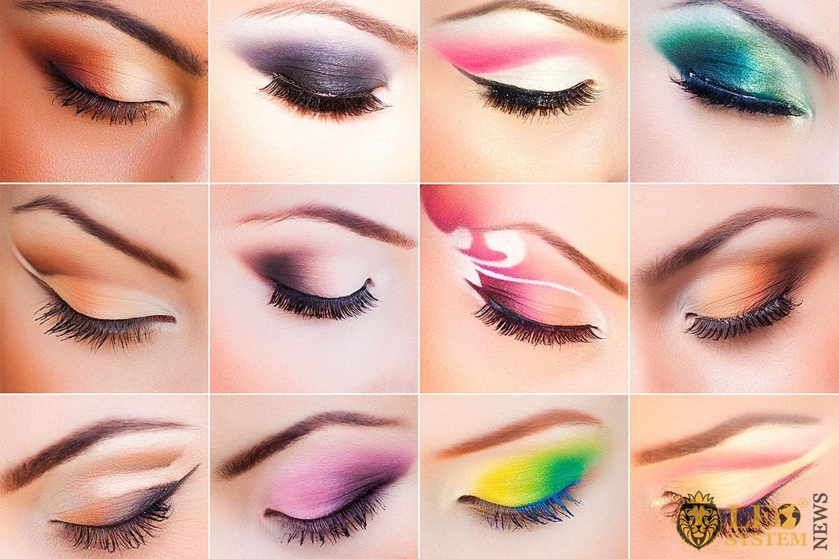 Eye makeup options