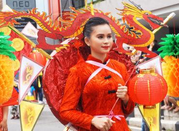 Festival Parade in Pontianak, Indonesia, West Kalimantan