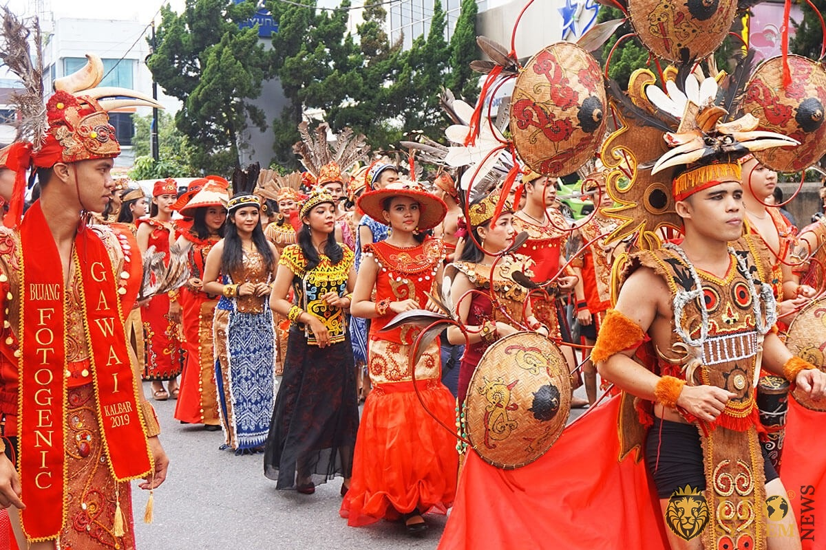 Indonesia, Pontianak, West Kalimantan - Anniversary Event on Gajah Mada Street, 2019 year