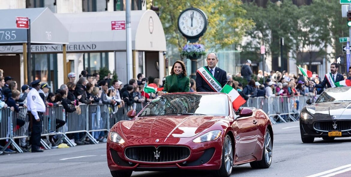 75th Annual Columbus Day Parade, Manhattan, NY, USA, 2019