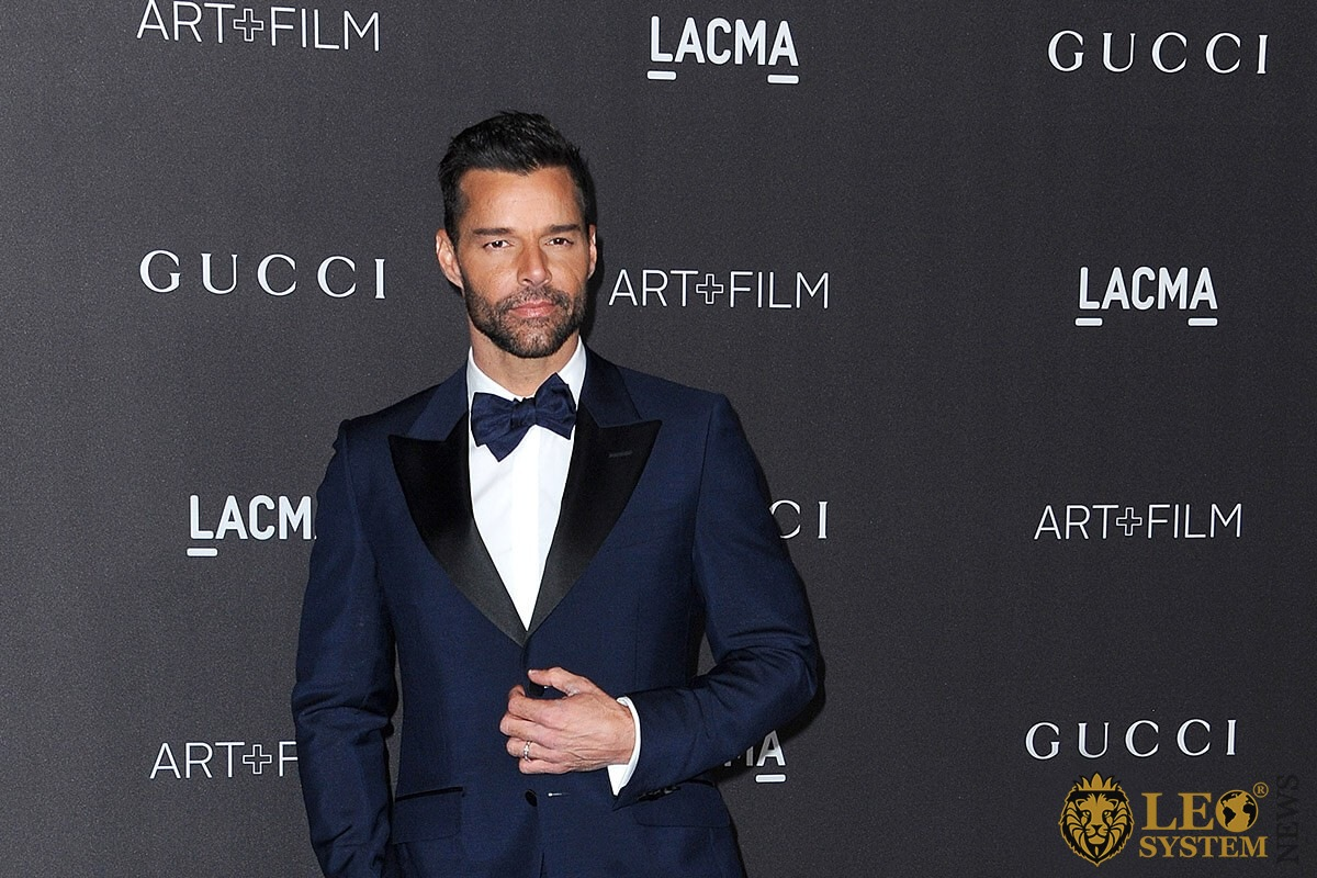 Ricky Martin at the 2019 LACMA Art plus Film Gala Presented By Gucci held at the LACMA in Los Angeles, USA