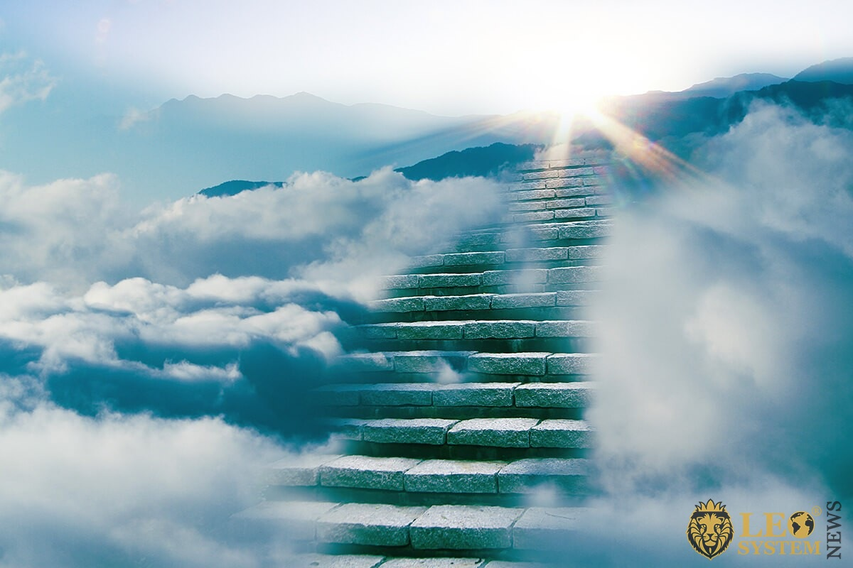 Stepped road to heaven
