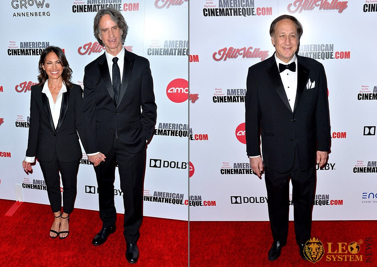 Susanna Hoffs, Jay Roach and Adam Aron - American Cinematheque Award Gala honoring Charlize Theron, Los Angeles, USA