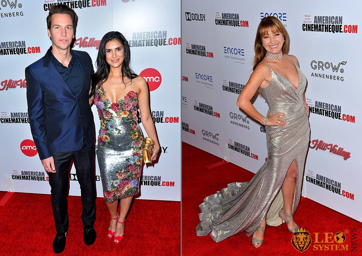 Ted McGrath, Ana McGrath and Jane Seymour - American Cinematheque Award Gala honoring Charlize Theron