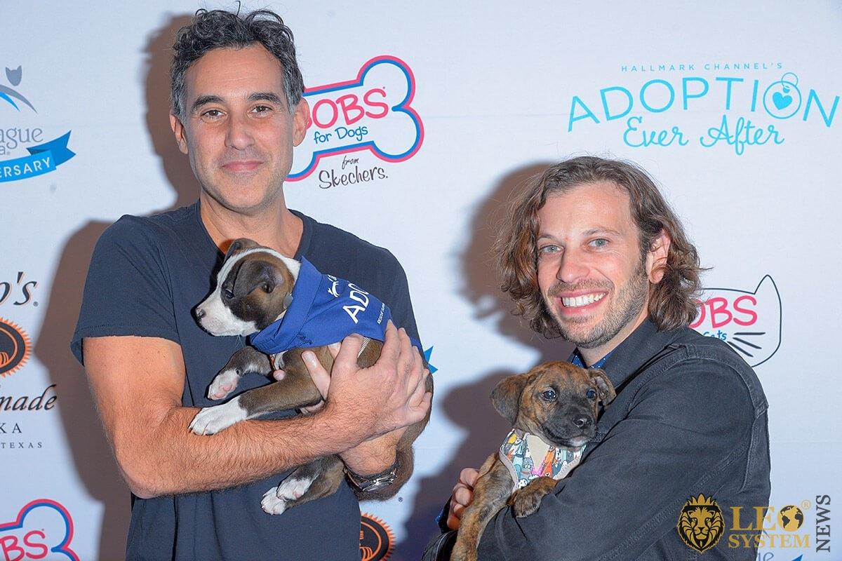 Joshua Radin and Danny Black - Animal League America's event, New York