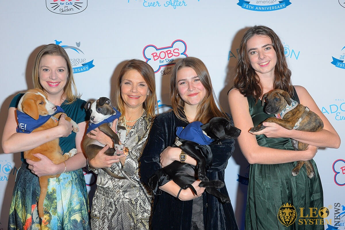 Guests attends the North Shore Animal League America's 2019 Annual Gala at Pier Sixty at Chelsea Piers, New York