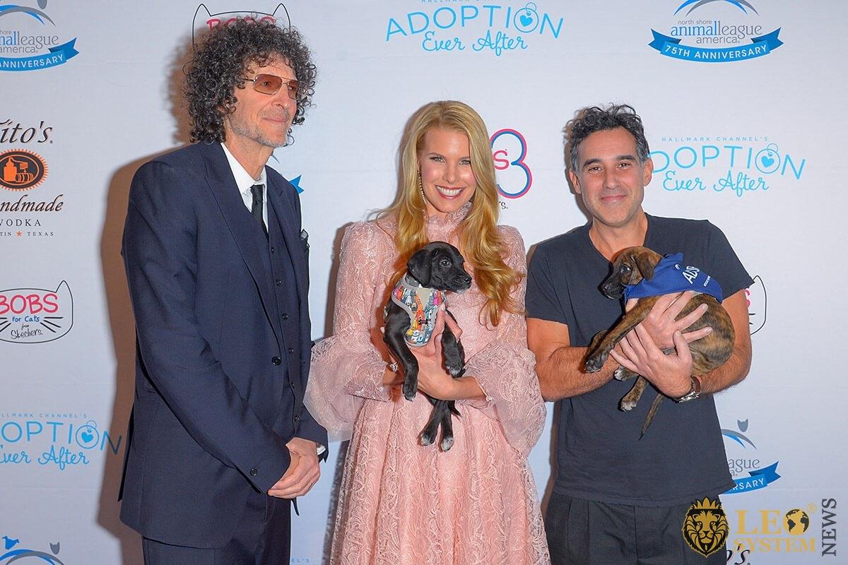 Howard Stern, Beth Stern, Joshua Radin - Animal League America's 2019 Annual Gala, New York, USA