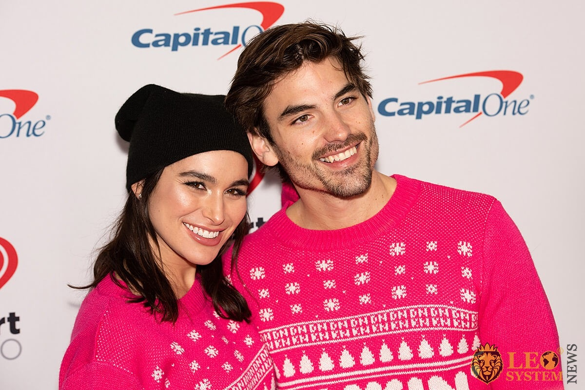 Jared Haibon and Ashley Laconetti - KIIS FM's iHeartRadio Jingle Ball event 2019