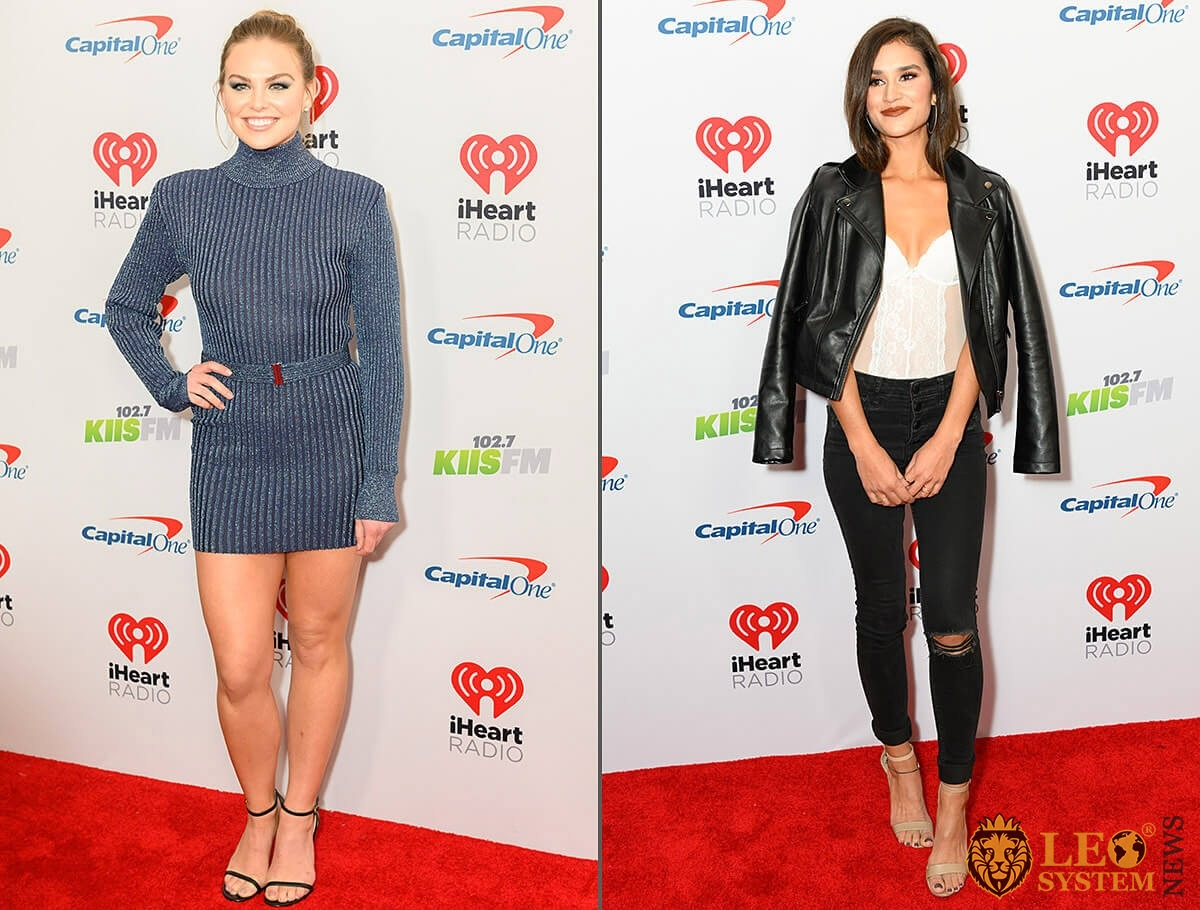 Hannah Brown and Taylor Nolan - KIIS FM iHeartRadio Jingle Ball event