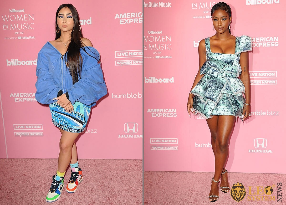 Paloma Mami and Justine Skye - 2019 Billboard Women in music held at the Hollywood Palladium in Hollywood, USA