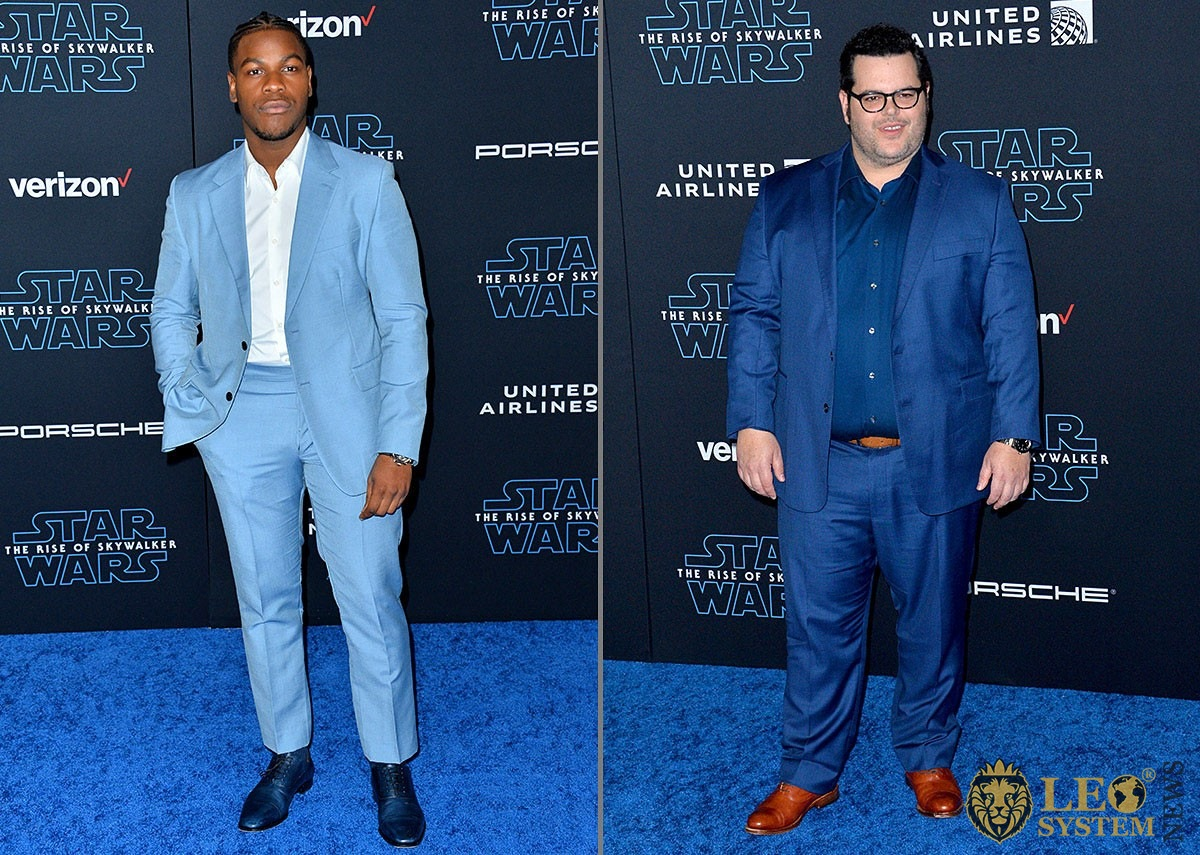 "John Boyega and Josh Gad - premiere of ""Star Wars: The Rise of Skywalker"", USA"