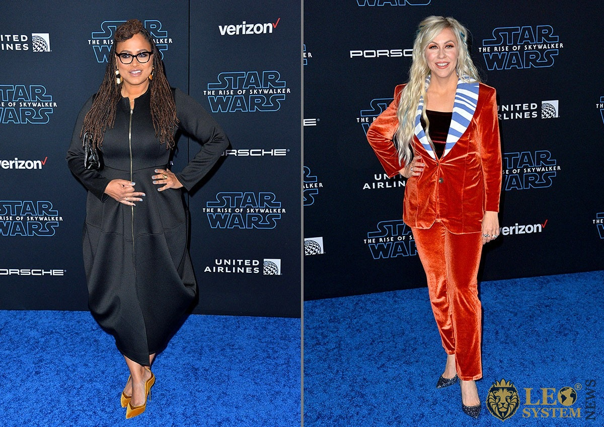 "Ava DuVernay and Ashley Eckstein - world premiere of ""Star Wars: The Rise of Skywalker"" at the El Capitan Theatre"