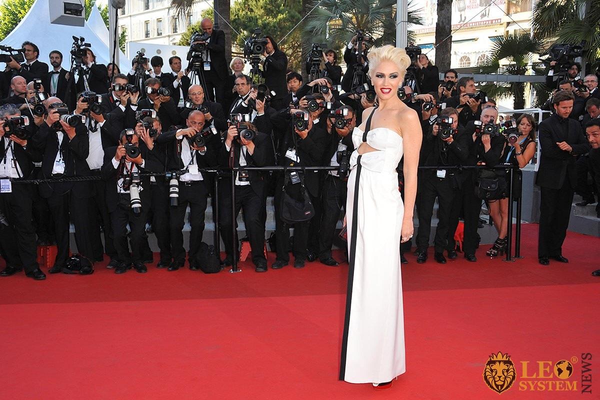 Photo Gwen Stefani - star blonde