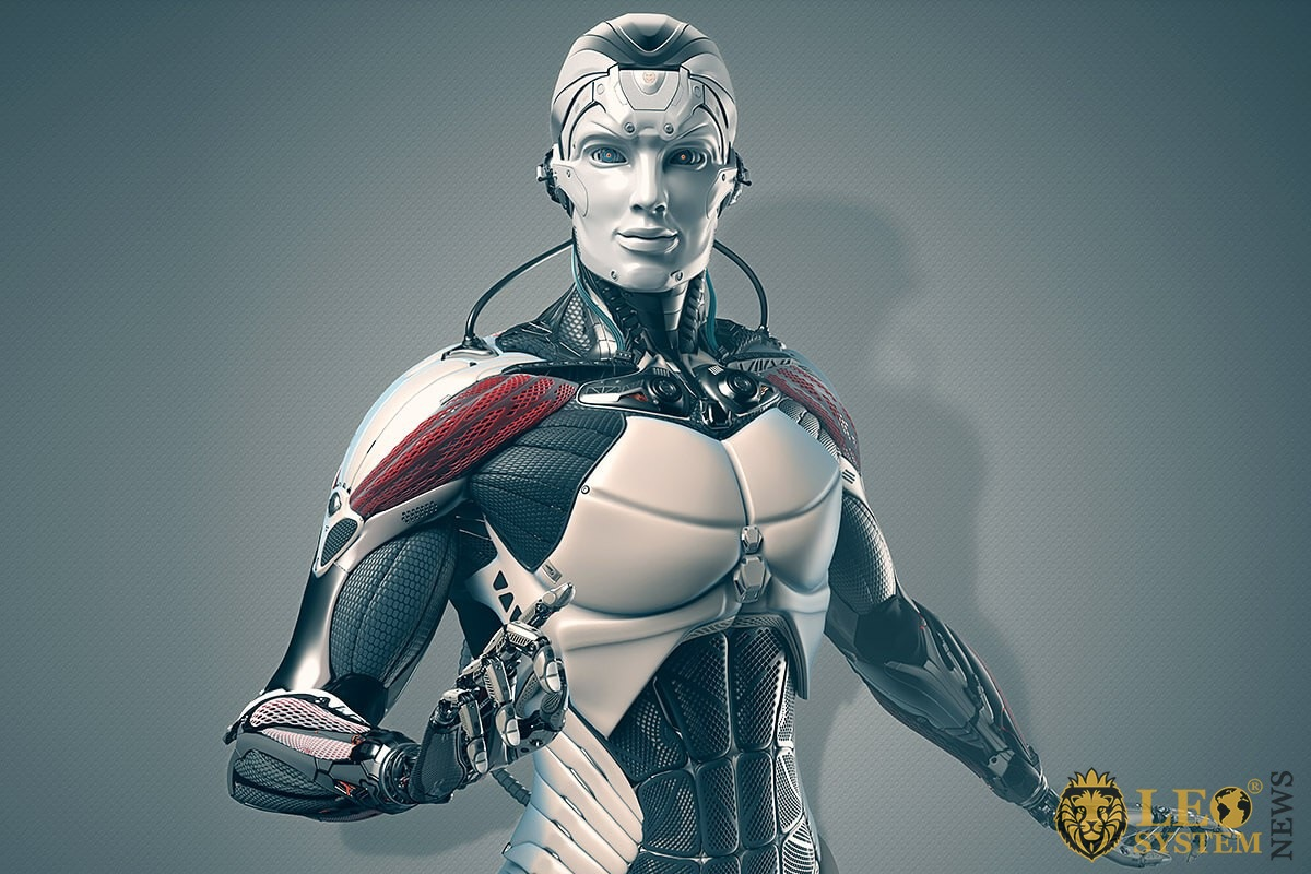 Image of a humanoid robot