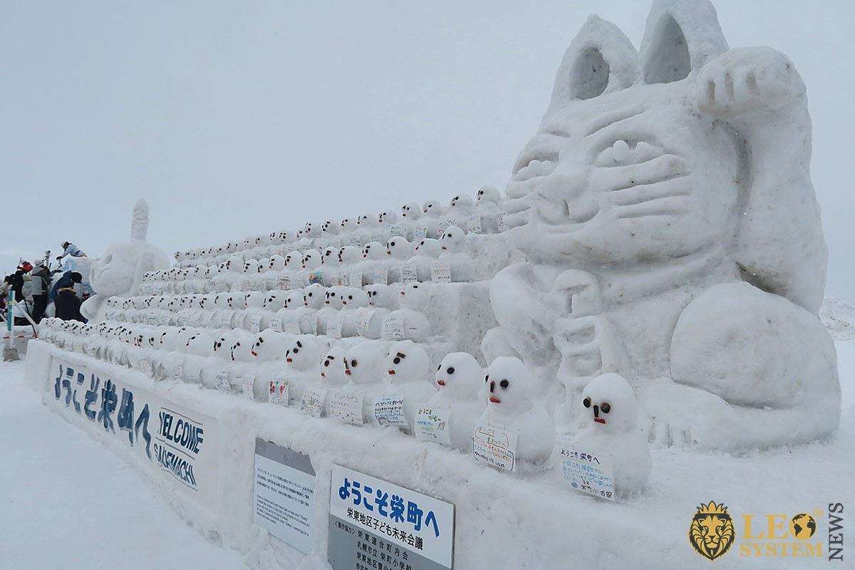 Sapporo Snow Festival, Sapporo city, Hokkaido Province, event in Japan