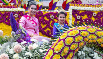 Annual Flower Festival Parade 2020, Chiang Mai, Thailand