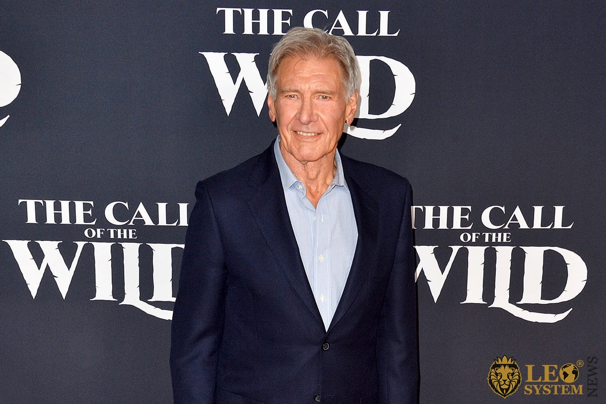 "Harrison Ford at the world premiere of ""The Call of the Wild"", Los Angeles, USA"