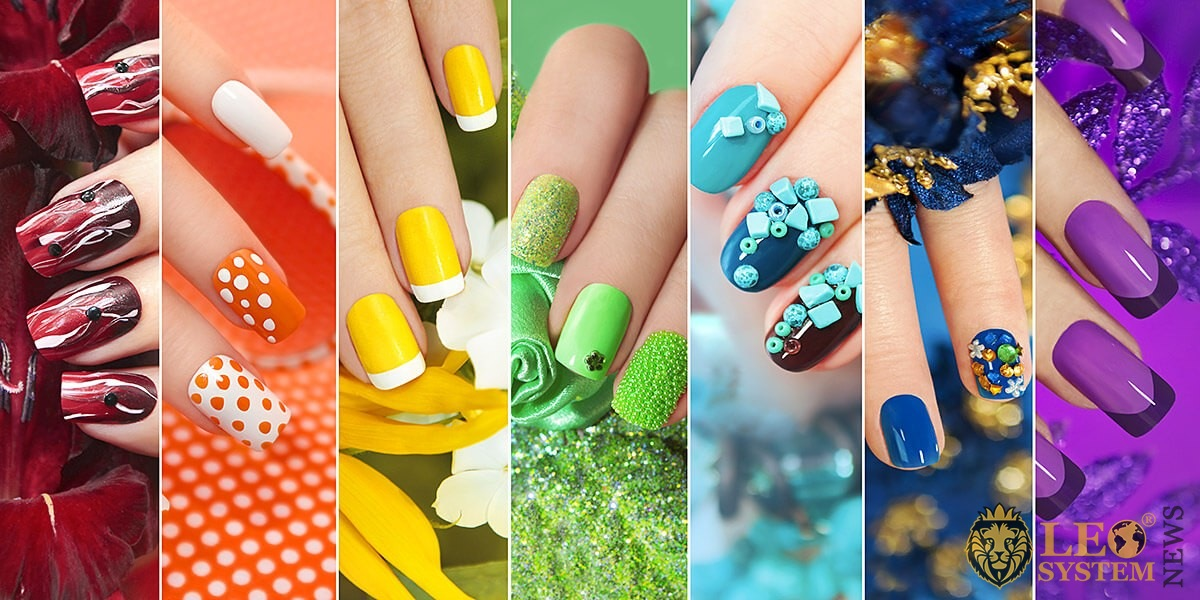 Image of various nail designs options