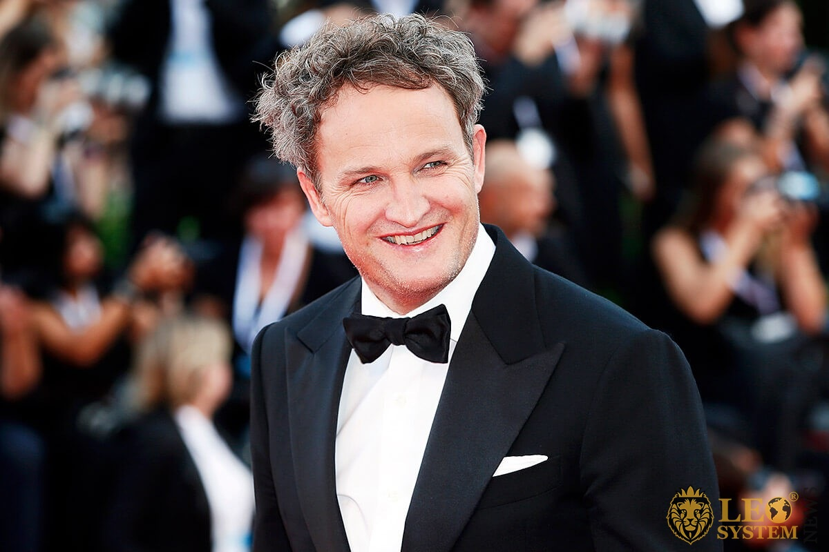 Image of Jason Clarke with a smile on his face