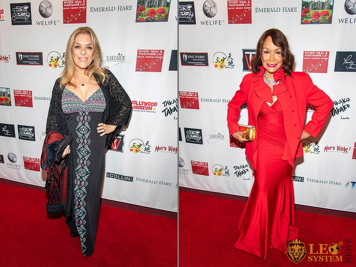Lydia Cornell and Freda Payne - 5th Annual Roger Neal & Maryanne Lai Oscar Viewing Dinner, Los Angeles