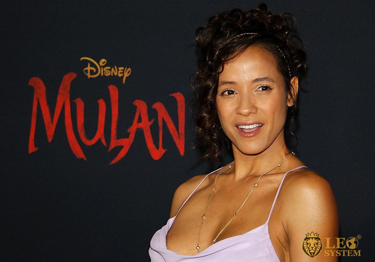 Dania Ramirez - World Premiere of Disney's Mulan, Hollywood, USA