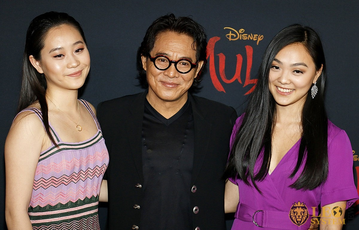 Jet Li at the World Premiere of Disney's Mulan, Hollywood, Los Angeles