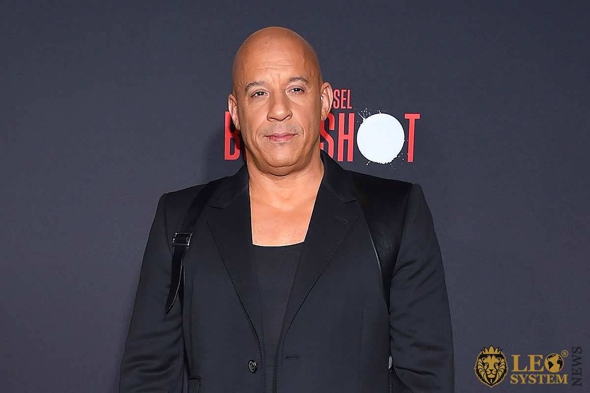 "Vin Diesel at the World Premiere of ""Bloodshot"" in Westwood, Los Angeles, California"