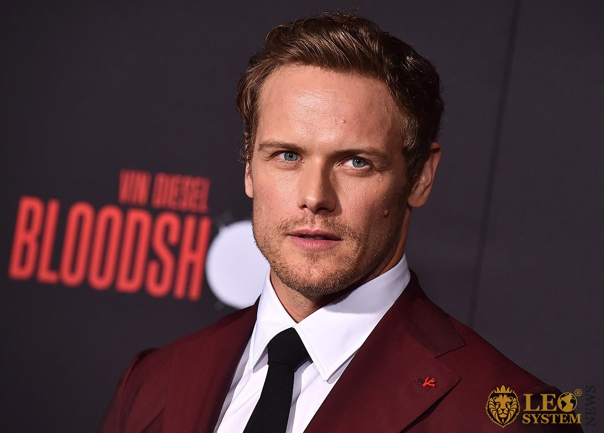 Sam Heughan - World Premiere of Bloodshot, California, USA
