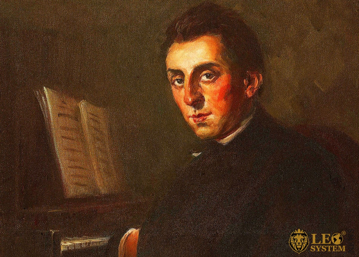 Image of the great composer - Frederic Chopin