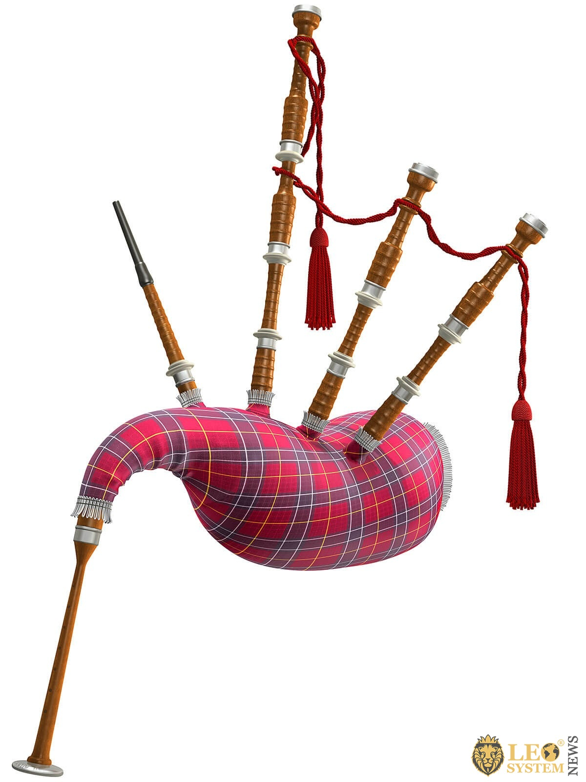 Image of a musical instrument - Bagpipes
