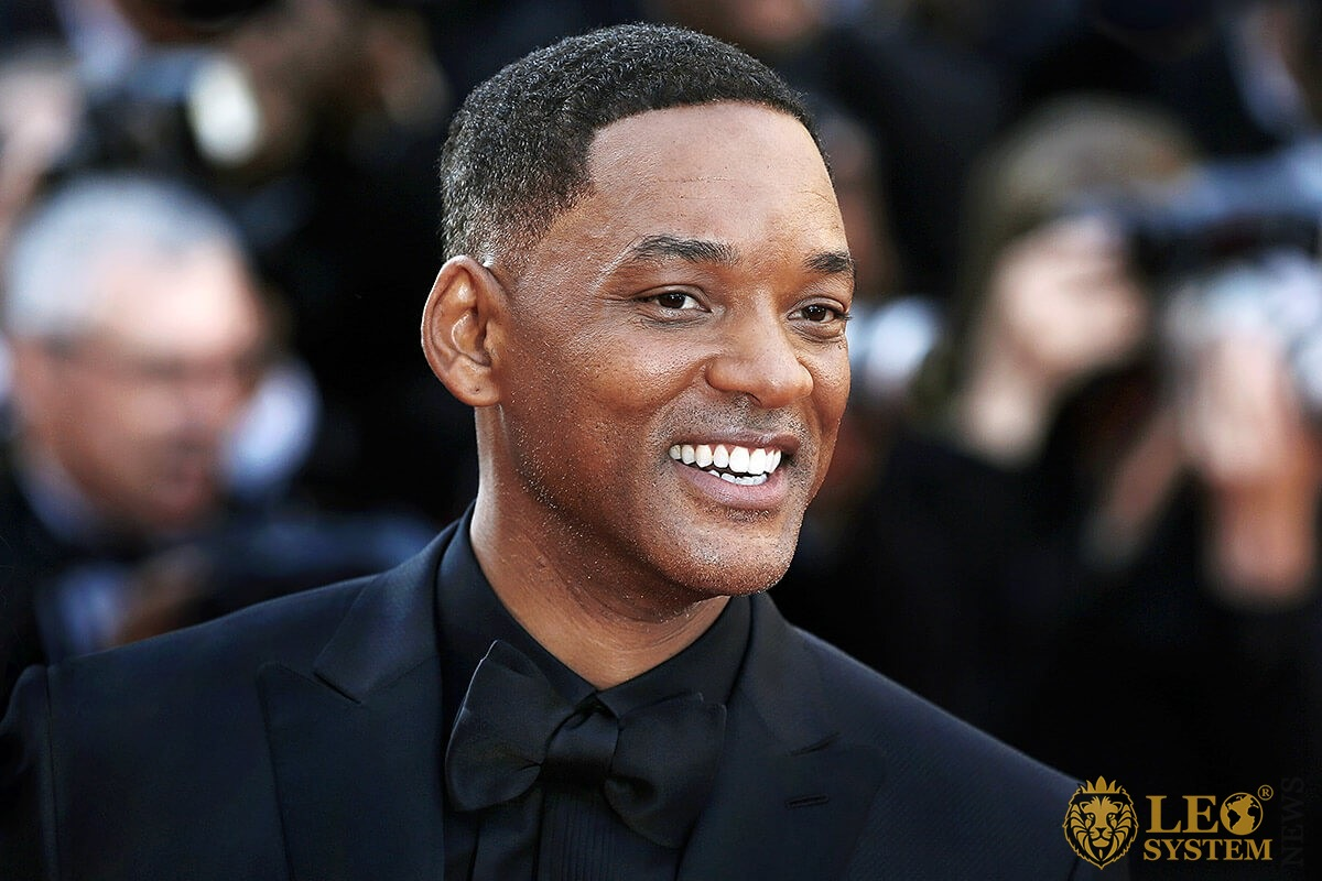 Image of Will Smith with a smile on his face