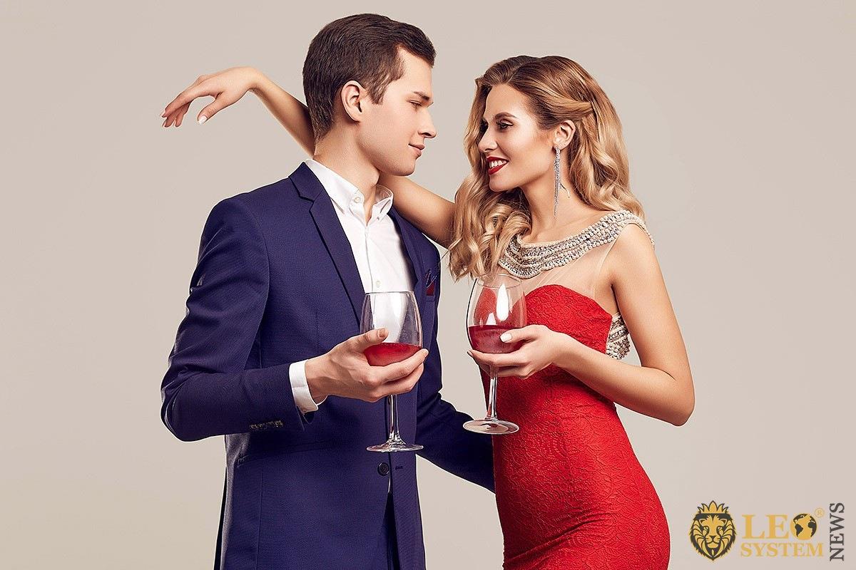 Image of dating beautiful couple