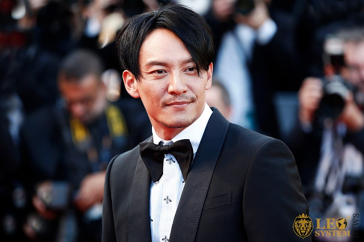 The mesmerizing look of actor Chang Chen