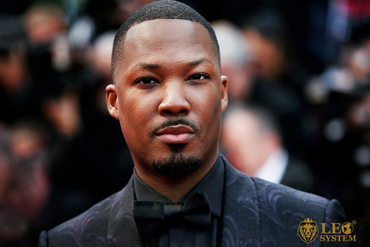 Image of American actor and singer Corey Hawkins