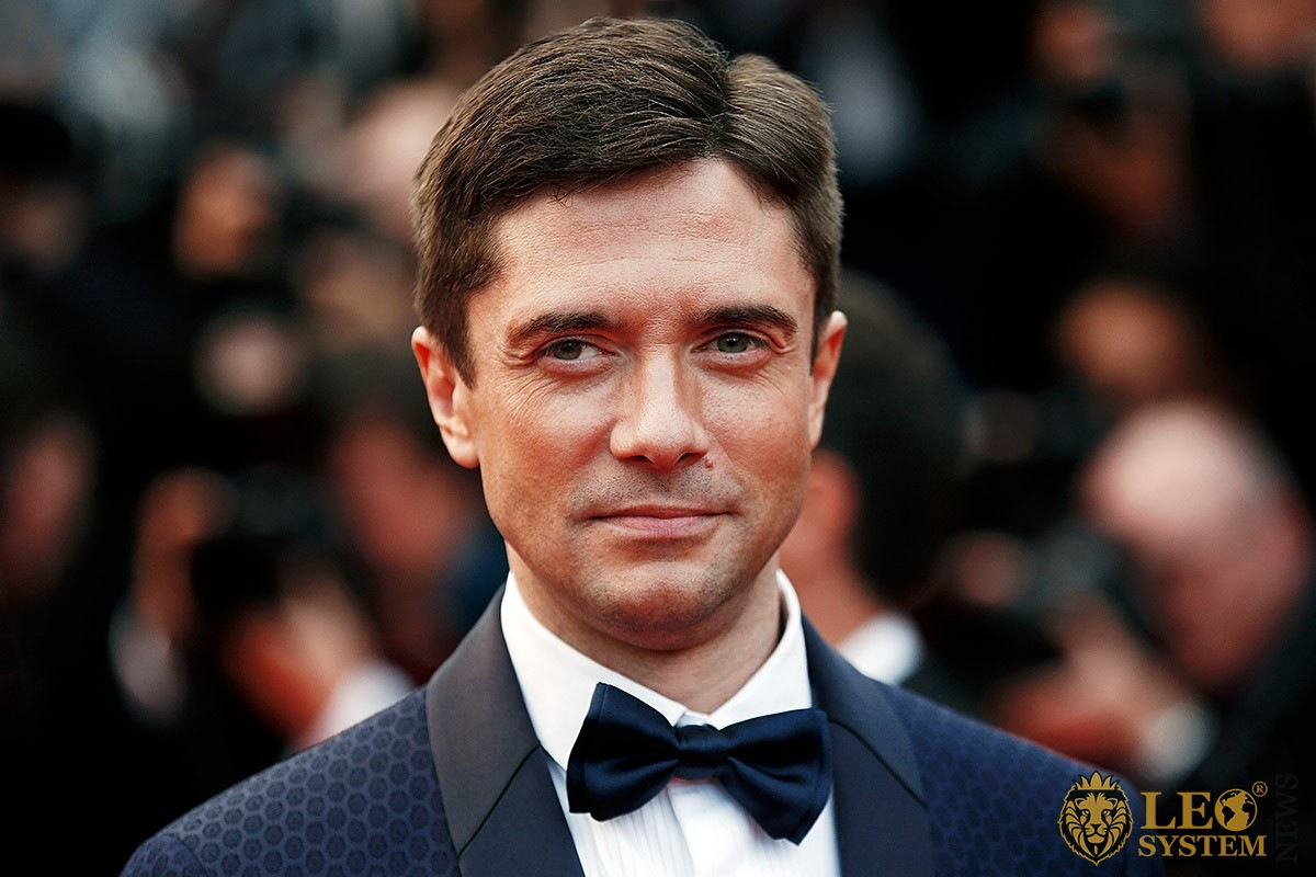 Fascinating look of the American actor Topher Grace