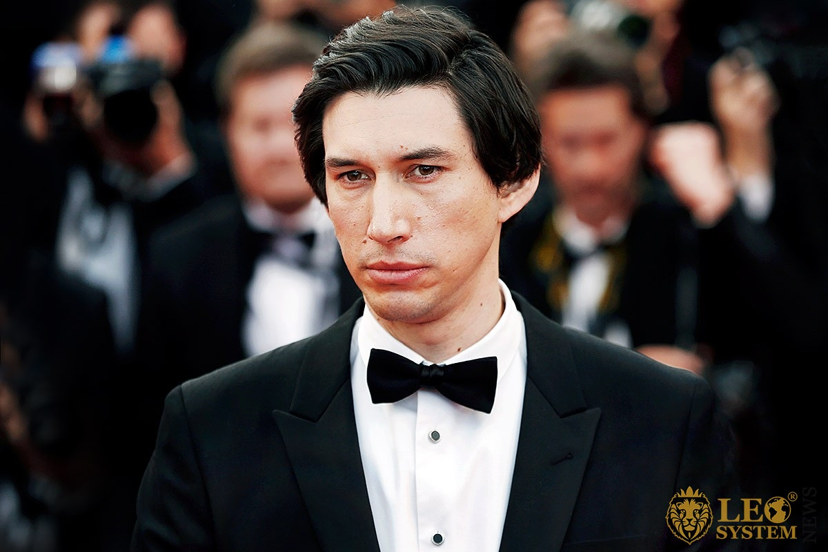 Image of American actor Adam Driver