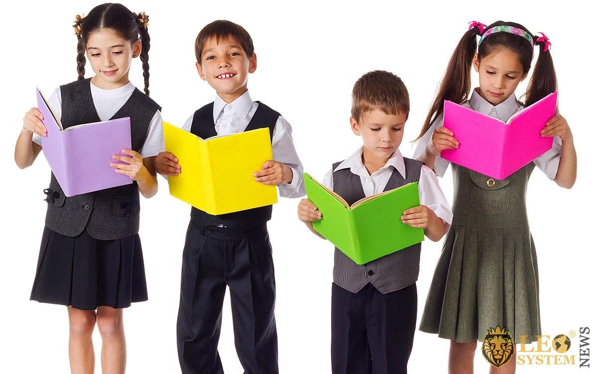Children develop and read books