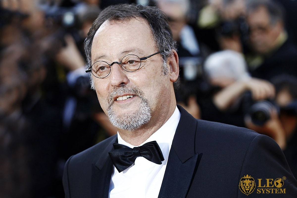 Charming look of the famous and popular actor Jean Reno