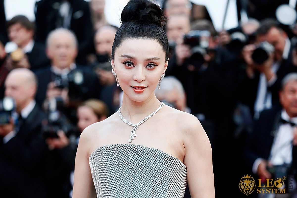Image of the popular Chinese actress and model Fan Bingbing
