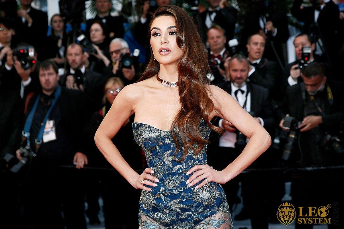 Popular Dutch YouTuber and business woman Negin Mirsalehi
