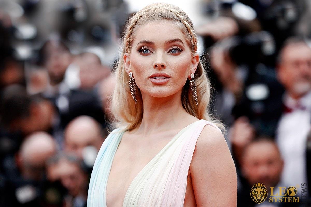 Swedish model Elsa Hosk