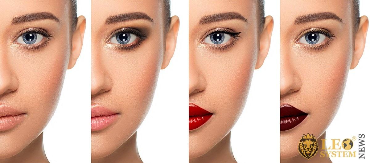 Image of makeup options
