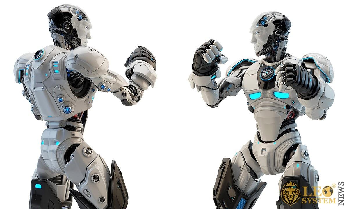 Image of humanoid robots