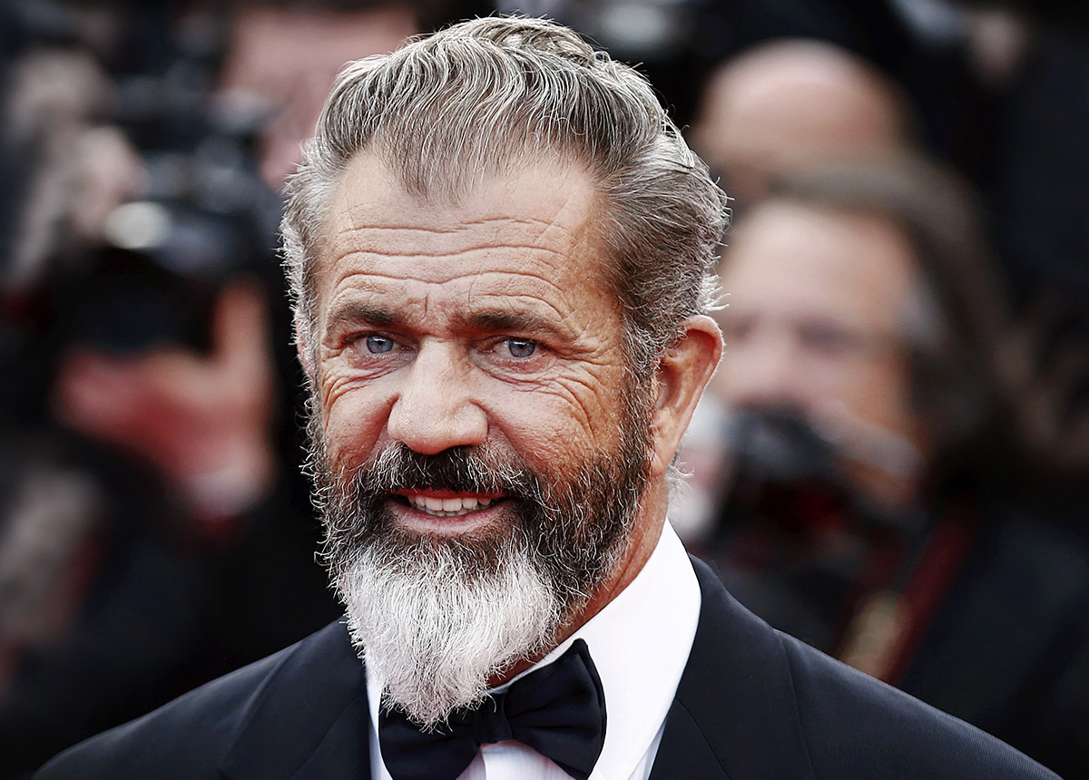 Luxury look of famous star man Mel Gibson