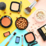 Image of a set of cosmetics for everyday makeup